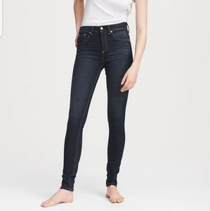 Rag and Bone -Nina High-Rise Skinny Jeans -size 32